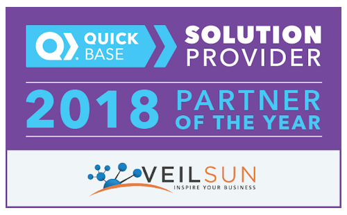 Veilsun quick base cloud app developers consulting 2018 quick base partner of the year malvernweather Images